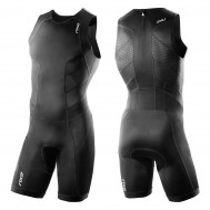 2XU Mens Perform Trisuit With Back Zip